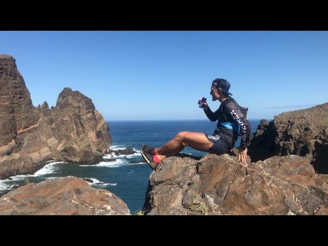 Тренировка Дмитрия Митяева на острове Мадейра