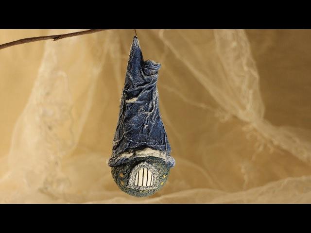 Домик. Новогодняя игрушка из лампочки