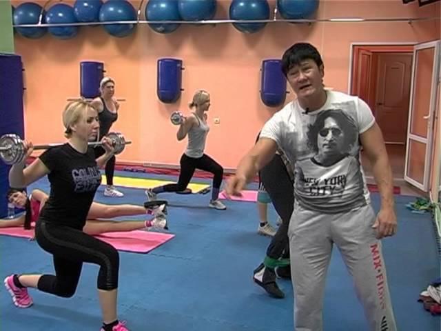 тренировка ног-УБИРАЕМ ГАЛИФЕ,продолжение