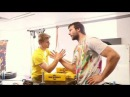 Devon Larratt Armwrestling Seminar - Part 9 - Strap Buckle Ref's Grip