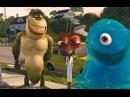 Видео к мультфильму «Монстры против пришельцев» (2009): Трейлер (дублированный)