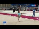 Вести-Москва  •  Гран-при по художественной гимнастике: в Москву приехали спортсменки из 33 стран