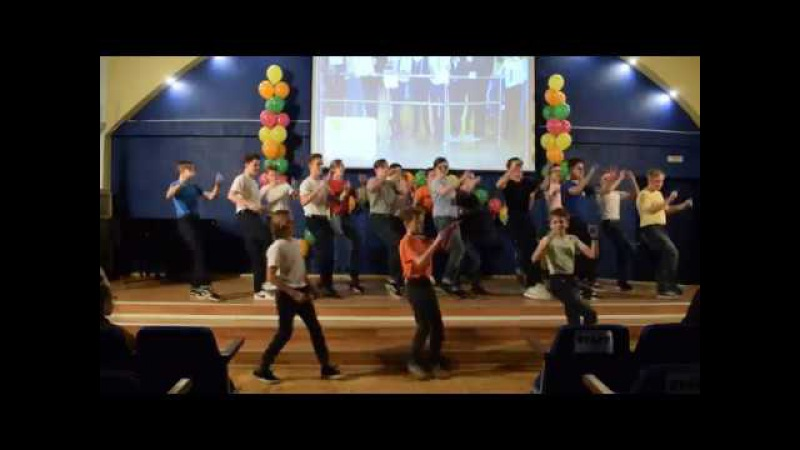 Boysband гимназии 13 на первом районном фестивале песен на английском языке Songchick