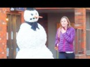 Ultimate Scare Cam Scary Snowman Hidden Camera Practical Joke Compilation 2012