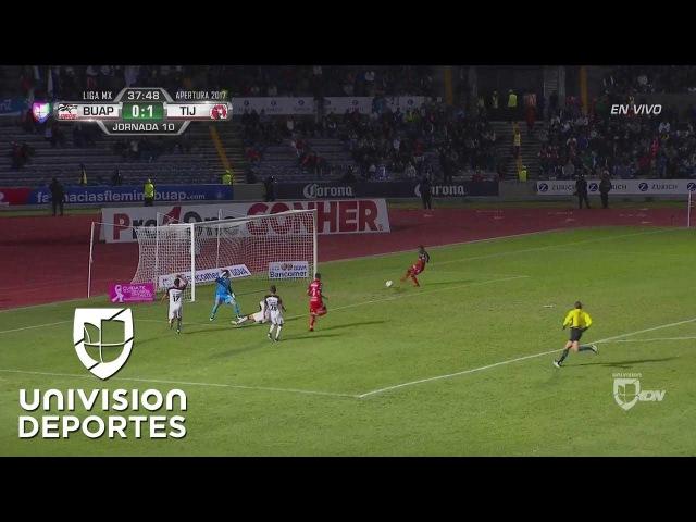 Gol de Bolaños en victoria de Xolos sobre Lobos BUAP