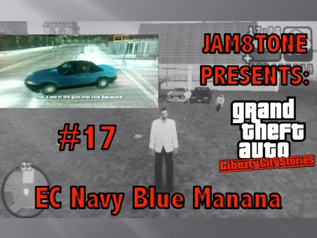 GTA LCS Special Vehicle Guide Part 17 (Obtaining an EC Navy Blue Manana)