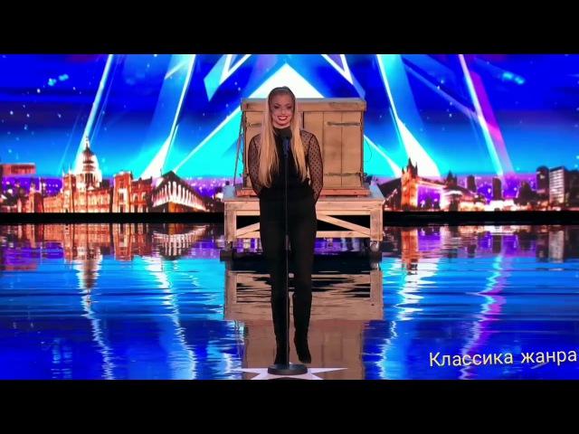 Красивая девушка показала великолепный фокус,судьи в шоке!Британия ищет таланты.