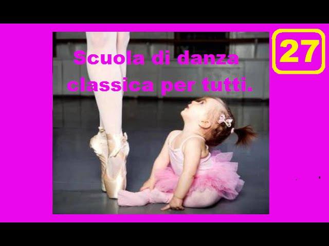 Battement relevé lent - Danza classica per tutti - anno 1 - Lezione 27