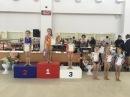 Соревнования по спортивной гимнастике, г. Краснодар, 1 юн. разряд. 1 место