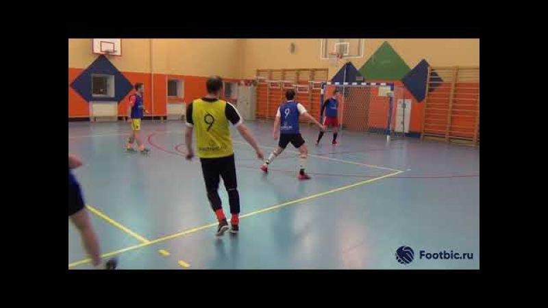 FOOTBIC.RU. Видеообзор 17.01.2018 (Метро Достоевская). Любительский футбол