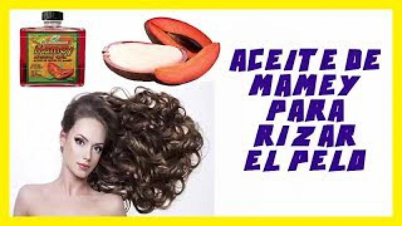 Revitaliza tu cabello rizado con Aceite natural de Zapote, Mamey