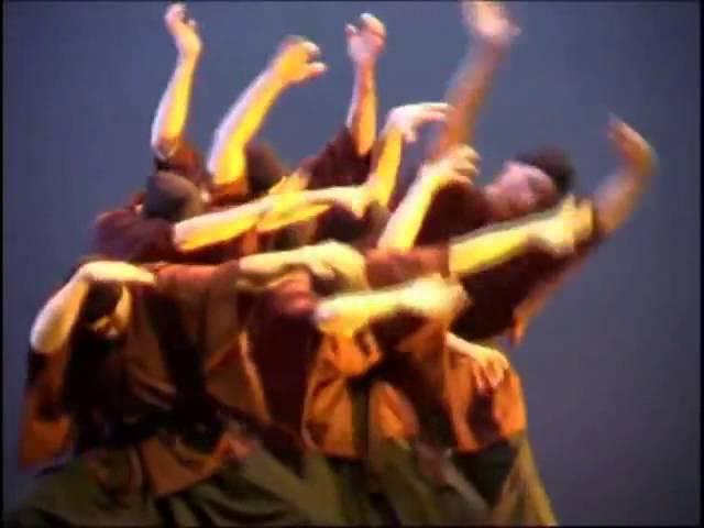 Марсель Марсо - Странствующий монах (Marcel Marceau Compagnie - The wandering monk 2004)