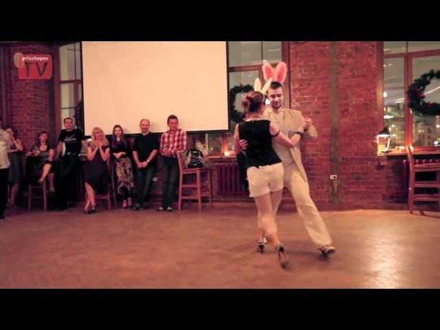 Alexander Krupnikov Valentina Ustinova Moscow Milonga El Colectivo Woodland Christmas Ball