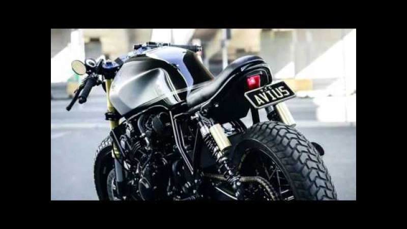 ' The Scout ' - Honda CB400 Cafe Racer / Return of the Caferacers