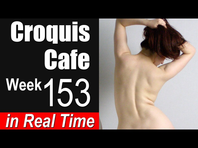 Croquis Cafe Figure Drawing Resource No. 153