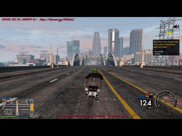 GTA 5 roleplay vida real trabalho honesto