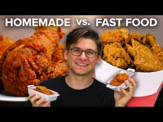 fast food versus homemade food Open document below is an essay on fast food vs home cooking from anti essays, your source for research papers, essays, and term paper examples.