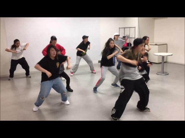 【HIP-HOPワークショップ】rushball Maika先生のアツい授業!【前半】