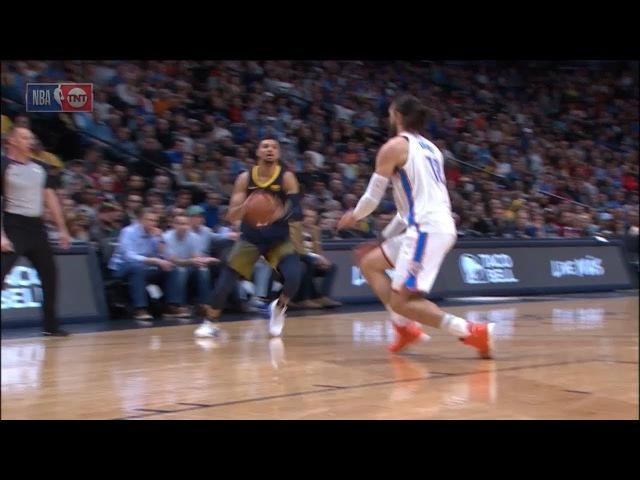 Jamal Murray Breaks Steven Adams Ankles | Thunder vs Nuggets | February 1, 2018 | 2017-18 NBA Season