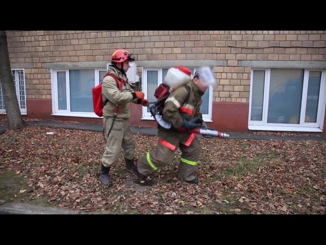 Как производить совместную работу ранцевого огнетушителя и воздуходувки-опрыскивателя Efco AT-800