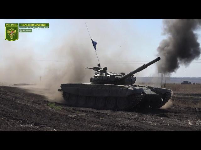 Межреспубликанские состязания танковых подразделений