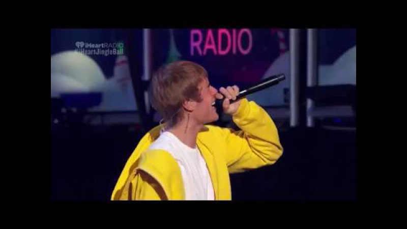 Justin Bieber - What Do You Mean, Let Me Love You Sorry (Z100 Jingle Ball )