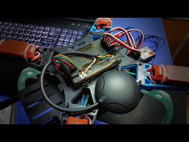 КВАДРОКОПТЕР СВОИМИ РУКАМИ 4 ArduPilot Mega APM 2.6 Ublox 6M GPS подключение, прошивка, настро ...