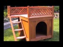Merry Products Wood Pet Home Room With A View