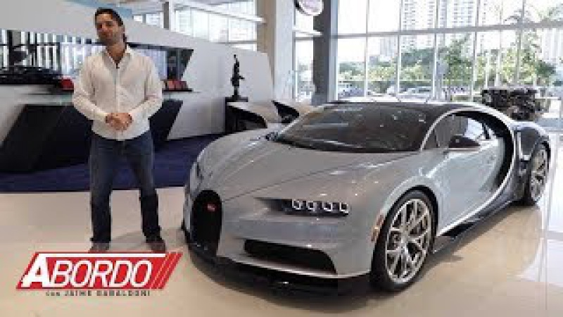 Bugatti Chiron Prueba A Bordo Completa