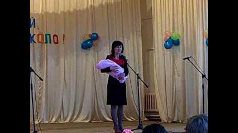 Выпускной 4 класс гимназия Овруч 2008 Випускний гімназія Овруч Колискова