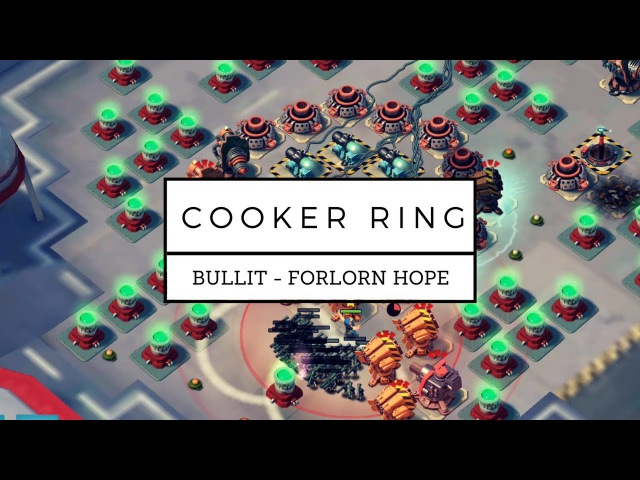 Angry Lions Cooker ring w extra Rockets Mortars Pvt Bullit hit by kegmeister