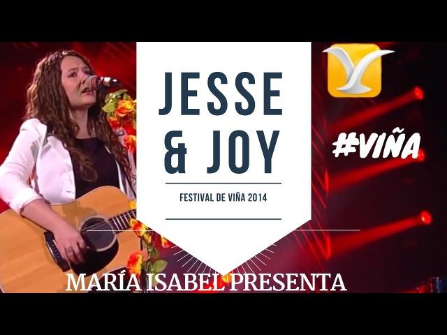 María Isabel Jesse Joy en festival de Viña - ¡Corre! - Festival de Viña del Mar 2014 VIÑA