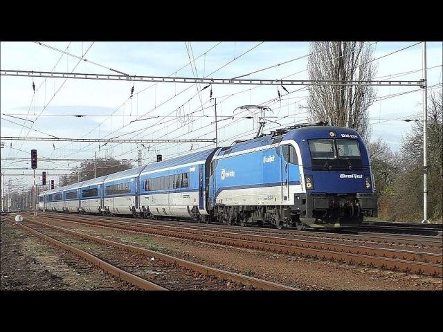 Vlaky Velim 24.11.2017
