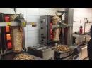 DONER ROBOTER DAS GERAT Automatic Doner Robot Automatic Shawarma Cutting Machine