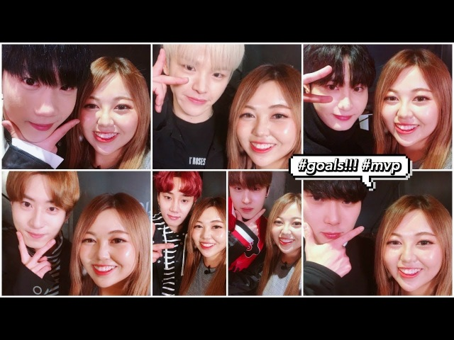 Hanging Out Being Silly with KPOP IDOLS MVP!