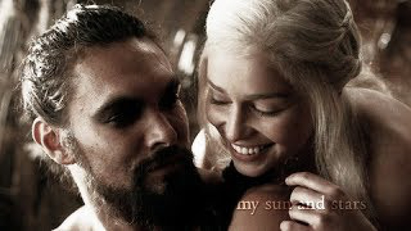 You are the moon of my life [ daenerys khal drogo ]
