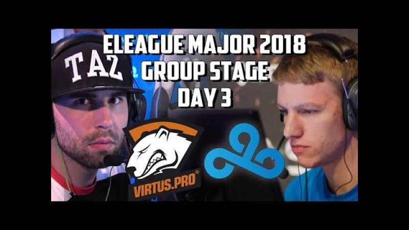 🔴 Cloud9 vs Virtus.Pro@ de_mirage🏆 HIGHLIGHTS 🏆 Boston Major 2018 Group Stage Day 3