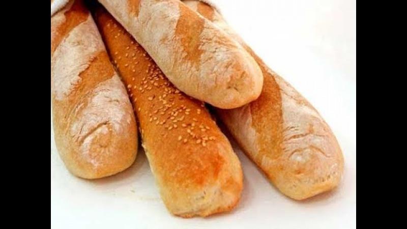 Багет - это французский ХЛЕБ / Мастер-класс от шеф-повара / Илья Лазерсон / Обед безбрачия