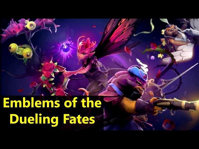 Emblems of the Dueling Fates Комплект с Имморталками Дота 2