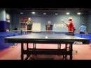 Крутые подачи в настольном теннисе. Ping-pong Sisters. 陡峭的备案乒乓球. 卓球の急激なファイリング.