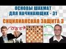 Сицилианская защита 3. Основы шахмат для начинающих 31. Игорь Немцев