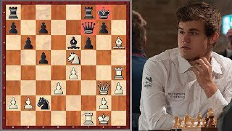 Carlsen vs. Karjakin Carlsen Shows Who Is The Boss