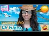 Learn Spanish Vocabulary for Free LA PLAYA Mar