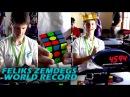 Rubik's World Record 4 59sec Feliks Zemdegs Slowmotion