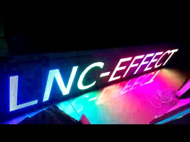 Строка полноцветная р10 LNC
