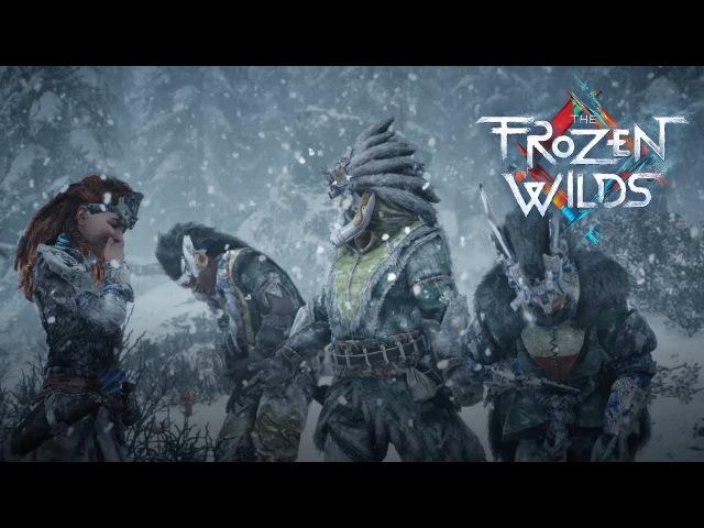 Прохождение Horizon Zero Dawn The Frozen Wilds 14 PS4 Три охотника