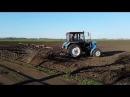 Трактор МТЗ 82.1 и культиватор КПС-4 подготовка под посев