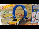 Hot Wheels Pista Track Builder Super 6 in 1 com Loop, Curvas e Booster