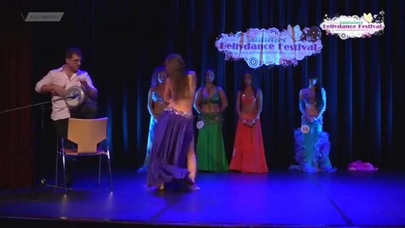 Tesliuk Tetiana at ISBF 2015 Leiden Netherlands improvisation tabla solo 22372