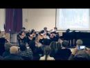 Концерт старинной музыки, 2017 г. И. С. Бах Менуэт.